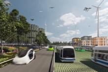 Exposition Les Routes du Futur du Grand Paris © Rogers Stirk Harbour + Partners / Équipe SUN