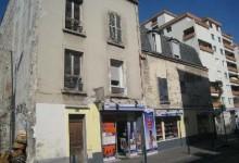 Immeuble avant démolition 26 rue du Pré Saint-Gervais