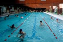 La piscine Jean Guimier à Romainville.Photo Est Ensemble / Antoine Dumont