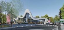 Nouvelle bibliothèque Courtillières Pantin