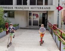 Bibliothèque du Pré Saint-Gervais ©Cyril Entzmann