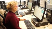 Informatique à la Maison de l'emploi de Pantin. © Est Ensemble / Communication