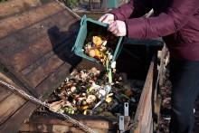 Composteur de quartier - crédit : Association le Sens de l'humus / Photo Hervé Boutet