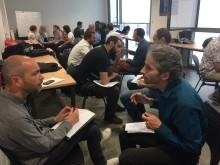 Ateliers lors de la Journée de la création d'entreprise d'Est Ensemble à Pantin