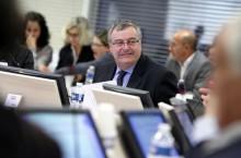 Election de Gérard Cosme à la présidence de l'agglomération Est Ensemble