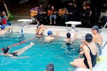 Les Nocturnes musicales #2 à la piscine Jean Guimier. Photo Est Ensemble / Antoine Dumont