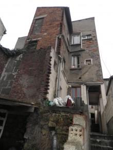 Le 22 avenuedu Belvédère au Pré Saint-Gervais a été démoli. À sa place, 11 logements sociaux seront construits. Photo Est Ensemble / Direction de l'habitat et du renouvellement urabin.