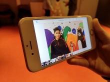 Découverte des différents types de plans en vidéo lors du premier atelier Pocket film. Photo Est Ensemble / Direction de la communication