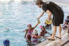 Maître-nageur sauveteur au centre nautique Jacques Brel à Bobigny