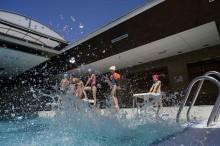 La piscine Jean Guimier à Romainville. Photo Est Ensemble / Gael Kerbaol