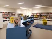 La bibliothèque François Mitterrand au Pré Saint-Gervais est alimentée depuis août en électricité à haute valeur environnementale fournie par Enercoop, comme 8 autres équipements d'Est Ensemble.Photo Est Ensemble / Direction de la communication