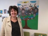 Valérie Malhouitre, gérante de la Scop E2S qui va ouvrir une crèche à vocation d'insertion cité de l'Étoile à Bobigny, avec l'aide du fonds pour l'économie des quartiers. Photo Est Ensemble / Direction de la commmunication.