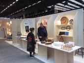 Le stand d'Est Ensemble sur le Salon Maison&Objet 2020. Photo Est Ensemble / Direction de l'économie, de l'attractivité et de l'innovation.