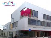 Le nouveau groupe scolaire Jean Renoir de la ZAC Quartier durable de la Plaine de l'Ourcq