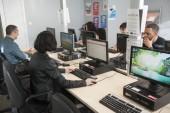 Atelier informatique à la Maison de l'emploi de Pantin. Photo Est Ensemble / Hervé Boutet