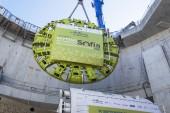 Le tunnelier Sofia a été baptisé le 20 septembre 2019. Photo RATP.