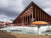 Le centre nautique Jacques Brel actuellement en rénovation. Photo Est Ensemble / Direction de la communication