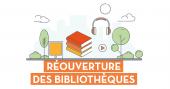 Visuel réouverture bibliothèques