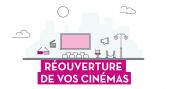 Visuel réouverture Cinémas
