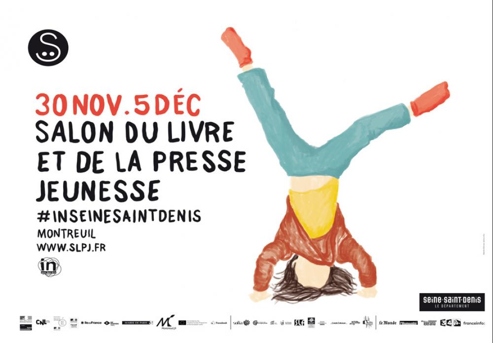 Salon du livre jeunesse de Montreuil : demandez le programme !