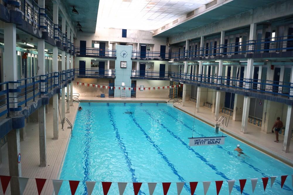 D couverte de la piscine leclerc pantin est ensemble for Piscine publique paris