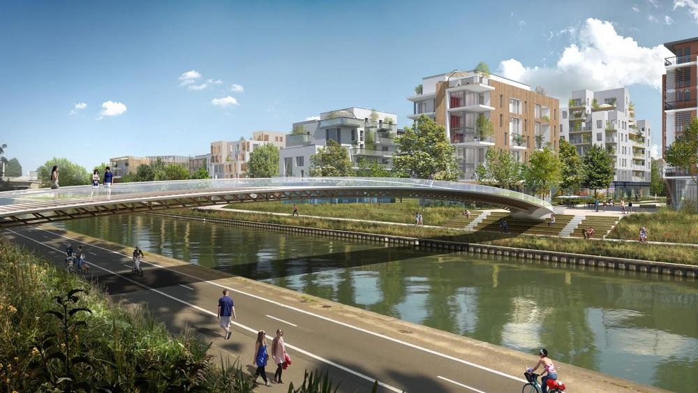 Zac quartier durable de la plaine de l ourcq noisy le for Architecture noisy le grand