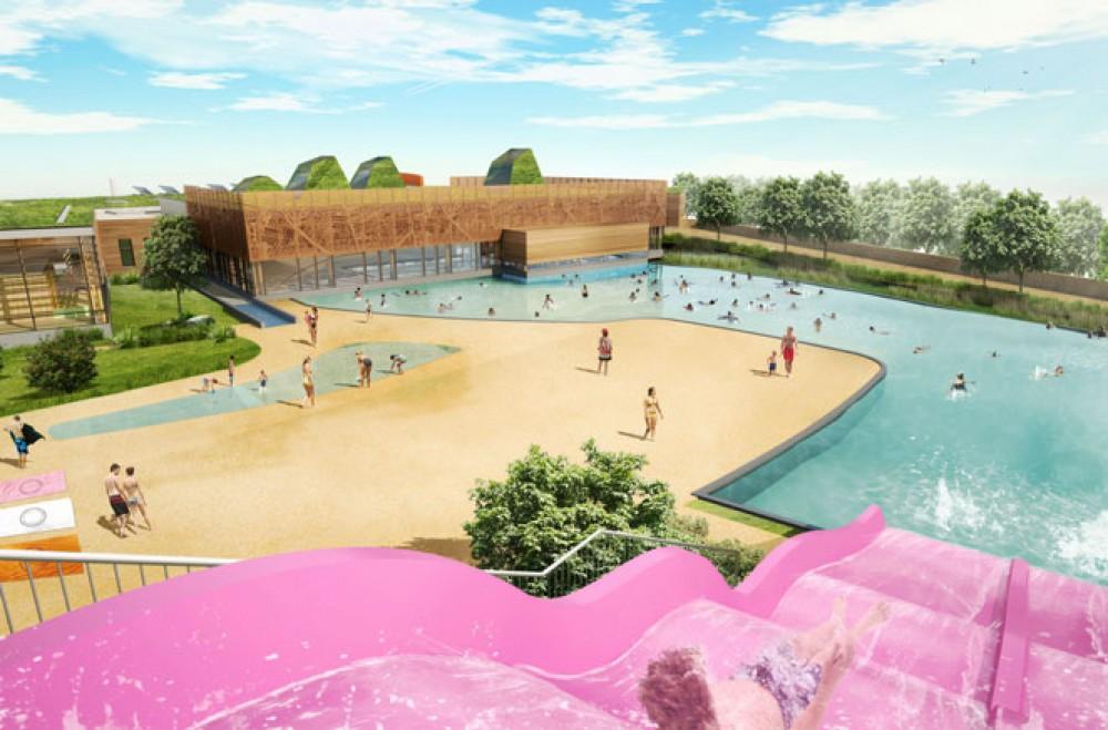 Visite du chantier de la piscine des hauts de montreuil for Piscine ecologique montreuil