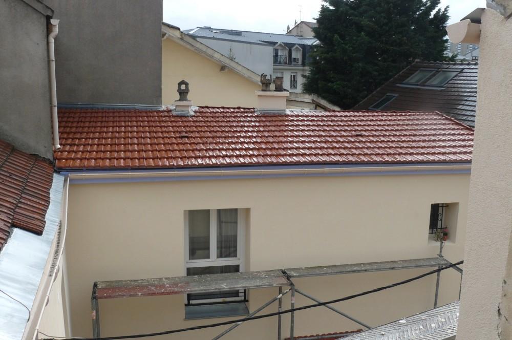 Romainville am lioration d une copropri t d grad e est ensemble - Copropriete travaux toiture ...