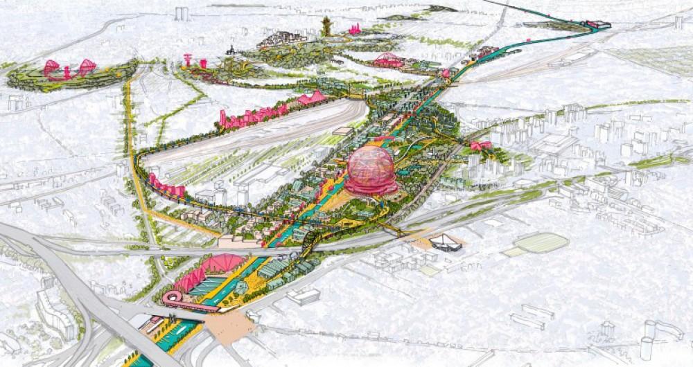 Exposition universelle : le plateau de Saclay choisi pour accueillir le village global